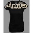 "T-Shirt ""Sinner Saved"" Girls"